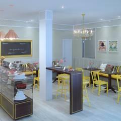 Confeitaria Cozinhas clássicas por hab design Clássico