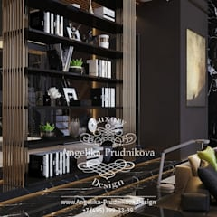 Дизайн-проект дома в Лос-Альтос, Калифорния: Столовые комнаты в . Автор – Дизайн-студия элитных интерьеров Анжелики Прудниковой, Эклектичный