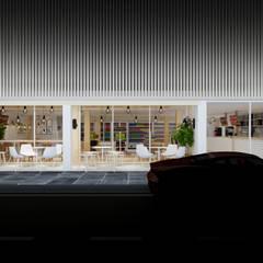 Villas by walkinterior , Minimalist Wood Wood effect