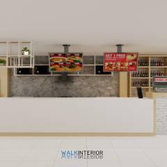 Estancias de estilo  por walkinterior  , Minimalista Madera Acabado en madera
