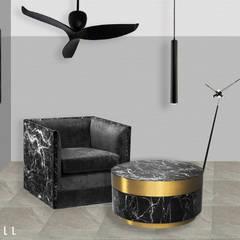 # 02   GOLD & BLACK: DeALL의  방,모던
