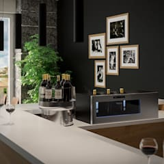 Datron | Cantinette vino의  와인 보관, 모던
