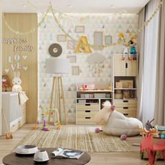 اتاق کودک توسطInterior designers Pavel and Svetlana Alekseeva, صنعتی