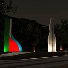 Exhibition centres by Ultar Arquietctos, Modern Concrete