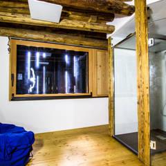 اتاق کار و درس توسطMonico Impianti, کانتری چوب Wood effect