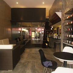 DESIGN & FIT-OUT WORKS FOR CAFE AT KUCHING, SARAWAK by eL precio Rustic