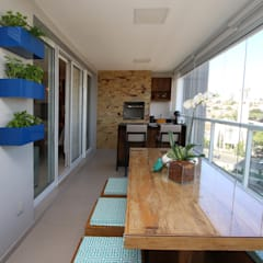 Oleh Serra Vaz Arquitetura e Design de Interiores Modern Parket Multicolored