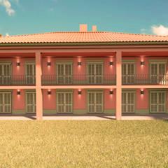 Casas mediterrâneas por Elaine Hormann Architecture Mediterrâneo