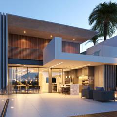 توسط MM Arquitetura مدرن سیمان
