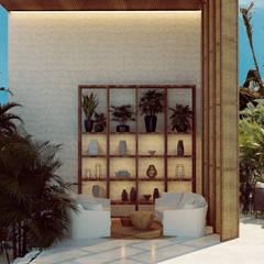 Tropische hotels van BÖHEM STUDIO Tropisch Marmer