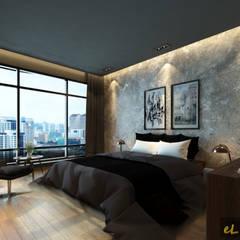 Egzotyczna sypialnia od eL precio Egzotyczny