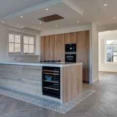 Built-in kitchens by Jongens DE WIT, Country Wood Wood effect