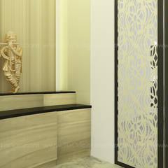 Turnkey Interior - Mr Shanmugam:  Walls by 360 Degree Interior,Modern Plywood