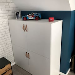 Teen bedroom by Mon décorateur privé - MDP, Industrial