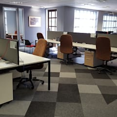 Commercial Office Space :  Office buildings by Flooring Projects, Modern