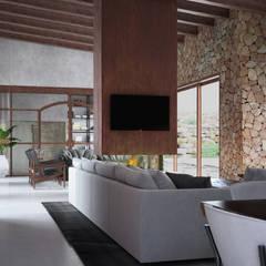 Dining room by Hema Interiors, Mediterranean