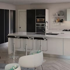 Casa Doral: Cocinas de estilo  por Gabriela Afonso, Moderno