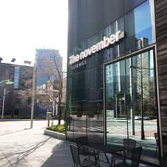 The november Lounge : The november design group _ 더 노벰버(주)의  바 & 카페,인더스트리얼