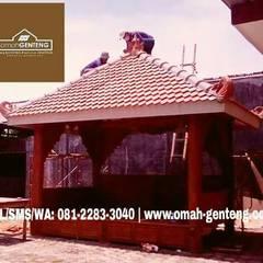 Genteng Sirap - HP/WA: 08122833040 - Omah Genteng Oleh Omah Genteng Country Batu Bata
