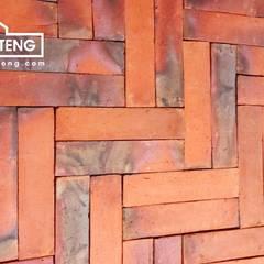 Bata Tempel - HP/WA: 08122833040 - Omah Genteng Dinding & Lantai Gaya Klasik Oleh Omah Genteng Klasik Batu Bata