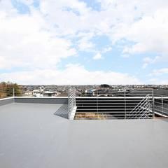 展望台の家 オリジナルデザインの テラス の STaD(株式会社鈴木貴博建築設計事務所) オリジナル