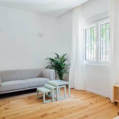 Floors by HUS Milano, Modern Wood Wood effect