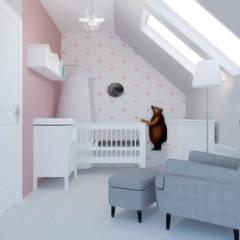 Dormitorios de bebé de estilo  por D' INTERIOR, Moderno