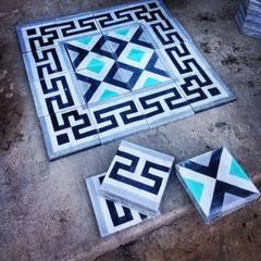 Galerías y espacios comerciales de estilo colonial de Mosaicos Tierra Nueva Colonial