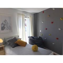 غرفة نوم أولاد تنفيذ SOI Home&Store Design , إسكندينافي