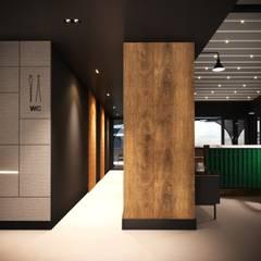Gastronomy by Entrada Mimarlık, Eclectic Wood Wood effect