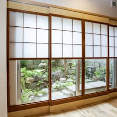 Windows by 光風舎1級建築士事務所, Asian Wood Wood effect
