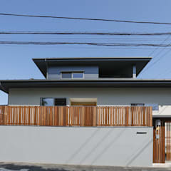 Single family home by 光風舎1級建築士事務所, Asian Wood Wood effect
