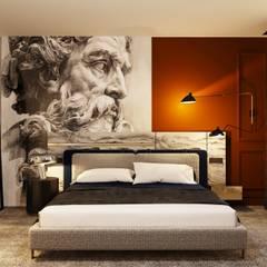 飯店 by Entrada Mimarlık, 地中海風 木頭 Wood effect