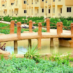 lablaya resort:  فنادق تنفيذ Green line for landscape egypt, حداثي حجر