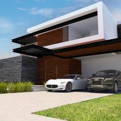 Modern houses by Marquira Modern