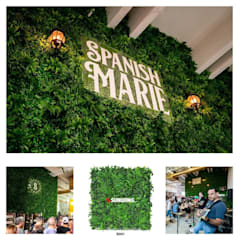 Artificial Greenery Wall For Indoor & Outdoor Landscape de Sunwing Industries Ltd Tropical Plástico