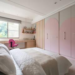 Girls Bedroom by 你你空間設計, Modern
