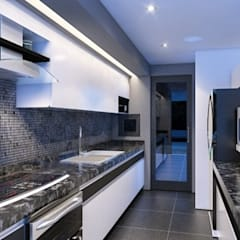 Muebles de cocinas de estilo  por OHANA STUDIO , Moderno
