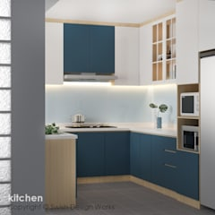 Jalan Damai:  Kitchen by Swish Design Works,Modern Plywood