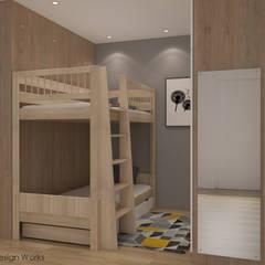 Woodlands St 13 Modern style bedroom by Swish Design Works Modern Plywood