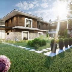 Ölmez Villaları Modern Bahçe ANTE MİMARLIK Modern