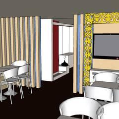 by SERPİCİ's Mimarlık ve İç Mimarlık Architecture and INTERIOR DESIGN 러스틱 (Rustic) 우드 + 플라스틱