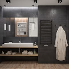 Coffe&milk:  Ванна кімната вiд Scavioli, Сучасний