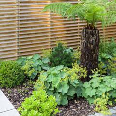 Sanctuary Garden Design in London の Earth Designs モダン