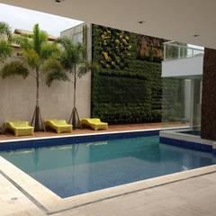 Remodelação | Moradia Cond. Santa Mônica Jardins por LAF Construction Management Moderno Mármore