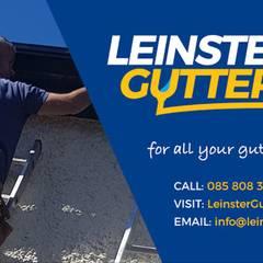 Gutter Repairs Dublin with Leinster Guttering:  Roof by Leinster Guttering, Modern