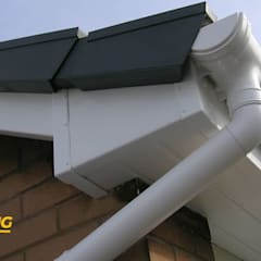 Flat roof by Leinster Guttering, Modern