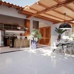 Balcony by Amauri Berton Arquitetura, Modern