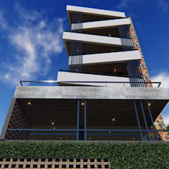 EDIFICIO L | Posadas | Misiones: Casas multifamiliares de estilo  por Estudio Táva,Moderno Hormigón