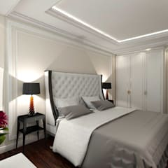 Small bedroom by STUDIO DESIGN КРАСНЫЙ НОСОРОГ, Classic